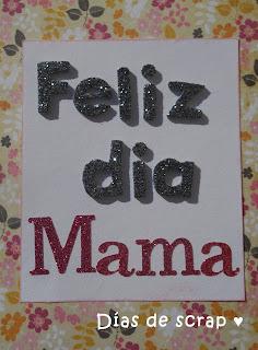 scrap cartel feliz dia mama