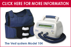 The Vest Airway Clearance System Model 104 -Lungs for Life Foundation