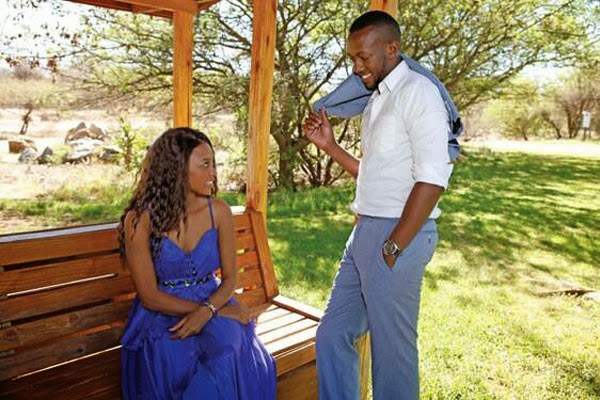 Oneal and Feza Are Botswana's Most Celebrated 2013 Couple | Big