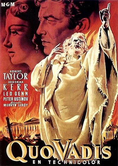 Quo Vadis z 1951 roku Mervyna LeRoya - film w którym użyto najwięcej kostiumów