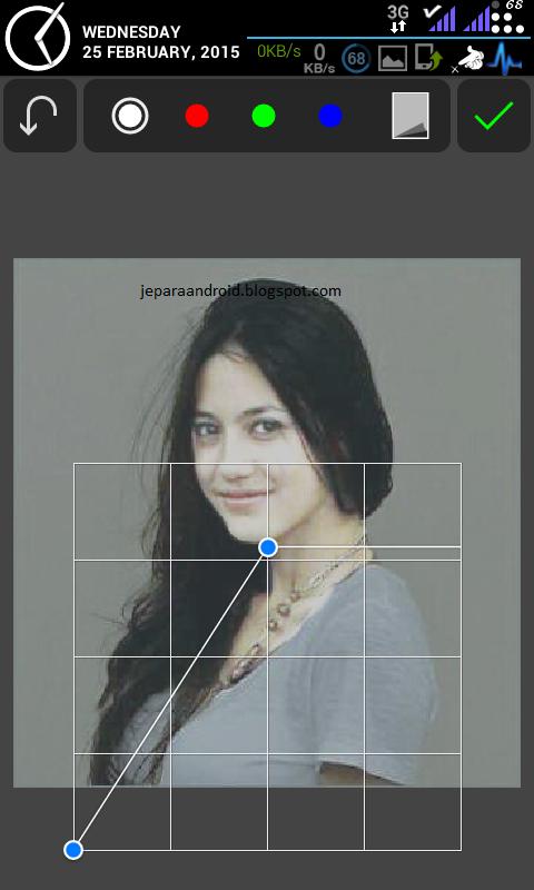 Cara Edit Foto Memutihkan Kulit Menggunakan PicSay Pro ~ HUZNIE MIEFTA