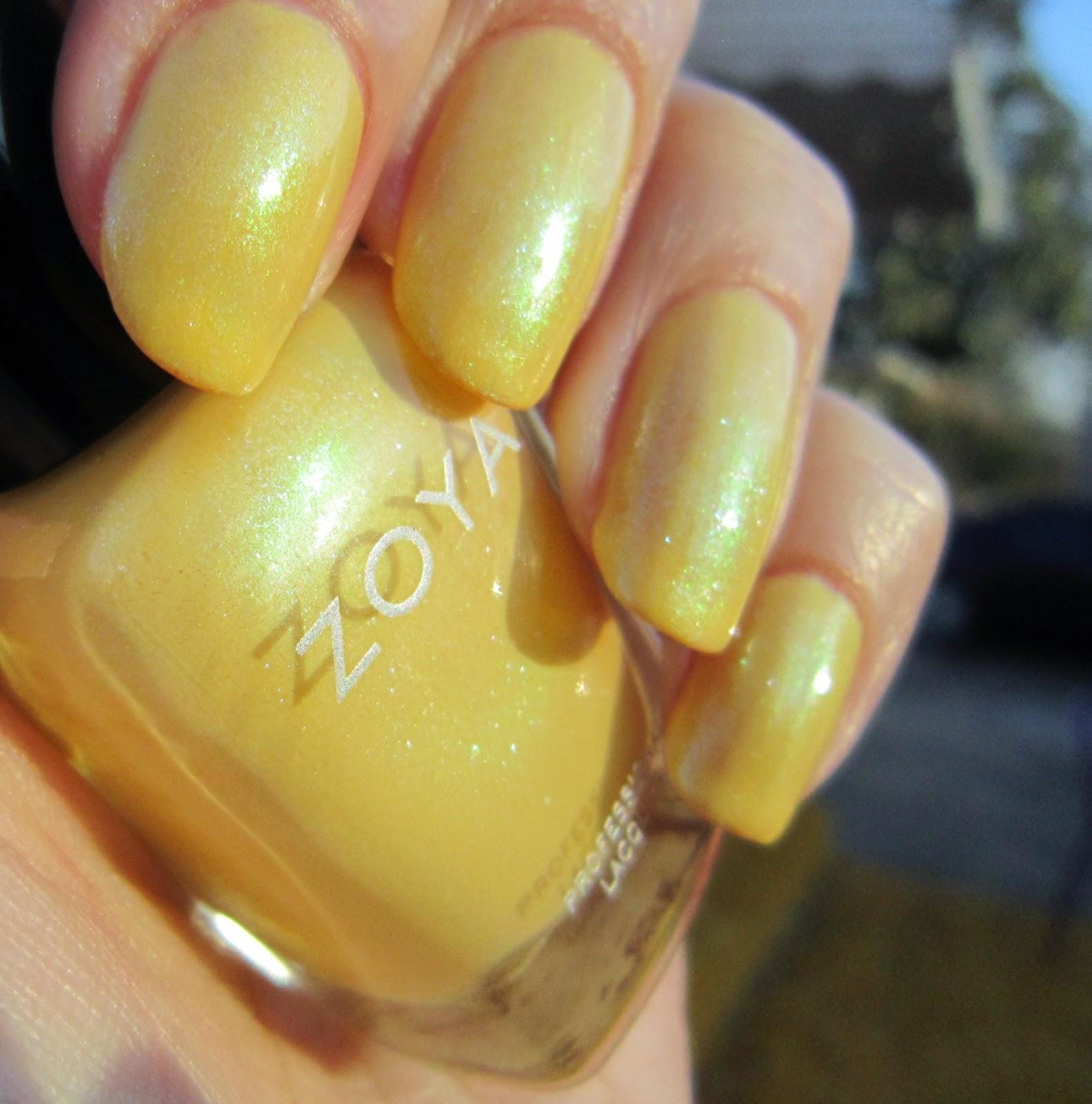Concrete and Nail Polish: Zoya Daisy