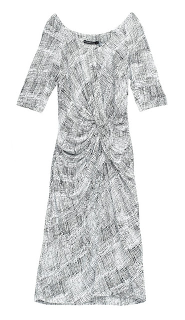 Alldressed up Maxim jersey printed dress
