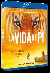 La vida de Pi: Ya en DVD, BLU-RAY y BLU-RAY 3D