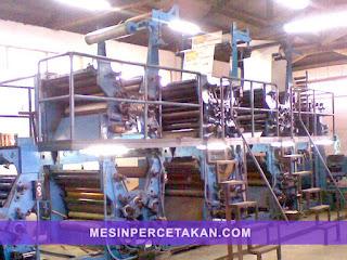 Mesin cetak koran | Goss Community Web Offset Printing