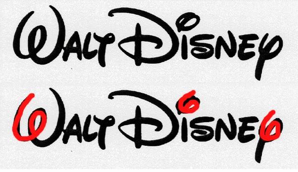 666 na logo Disney