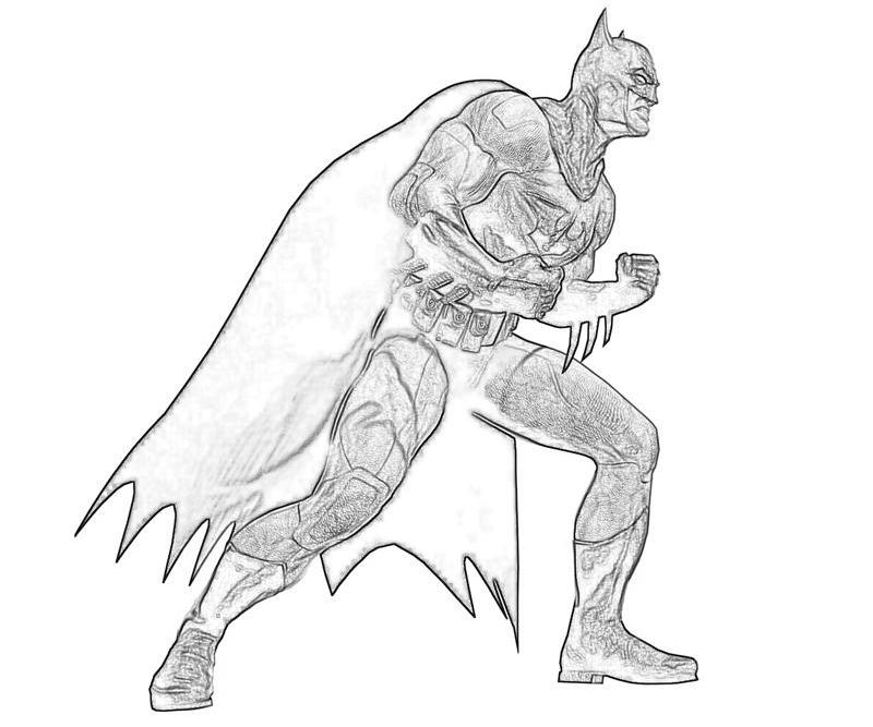 batman arkham city batman character how coloring