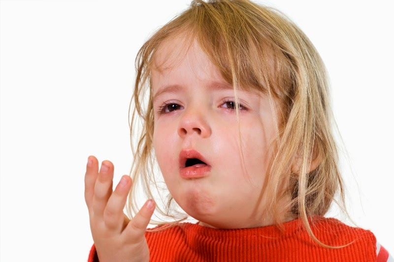 Gambar anak terserang batuk pilek dan cara mengobatinya