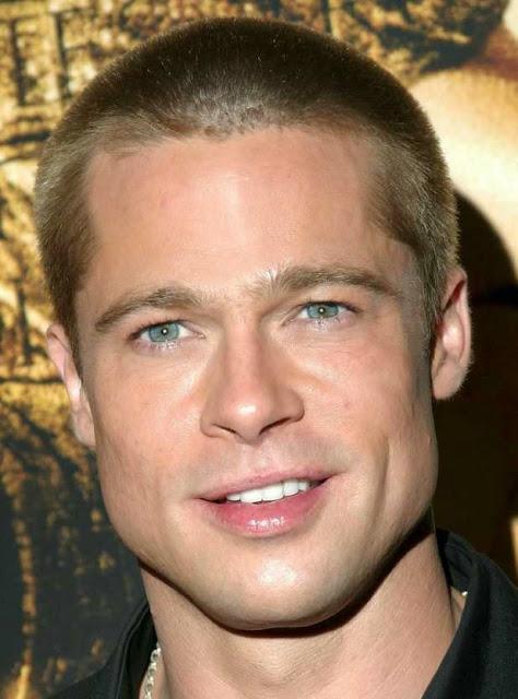 Foto aktor Brad Pitt