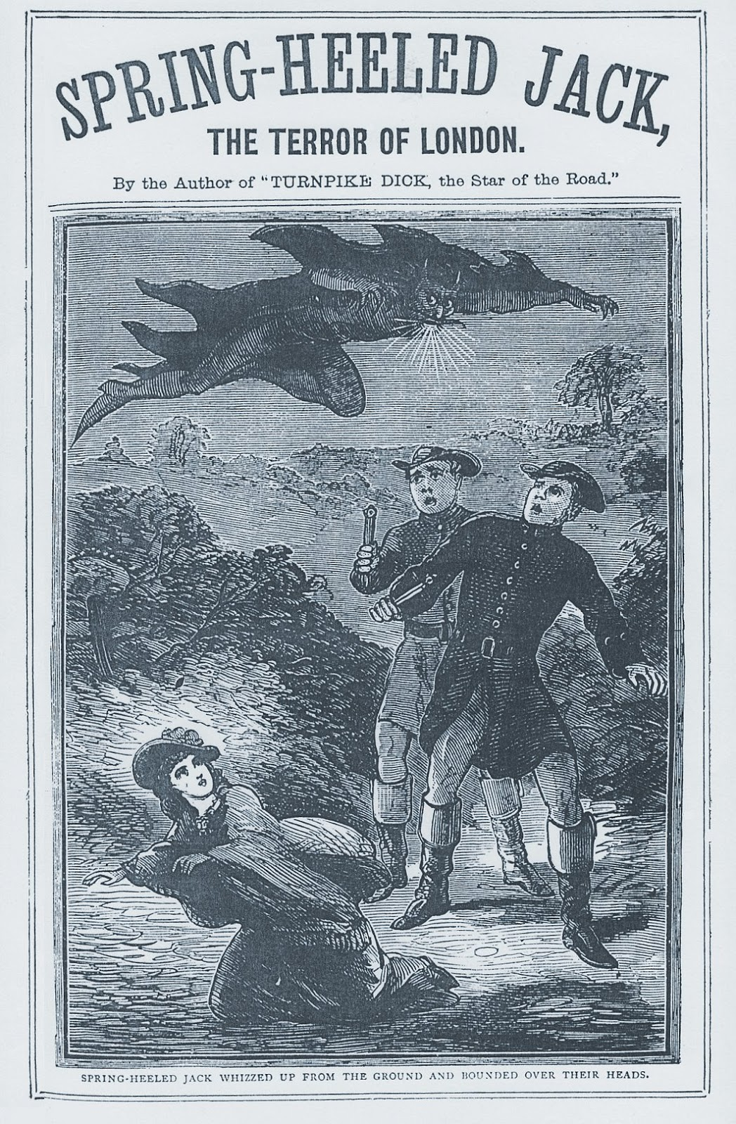 Spring-heeled Jack, Mystery Assailant!