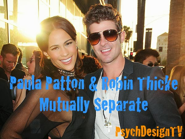 Paula Patton and Robin Thicke Have Mutually Decided to Split!