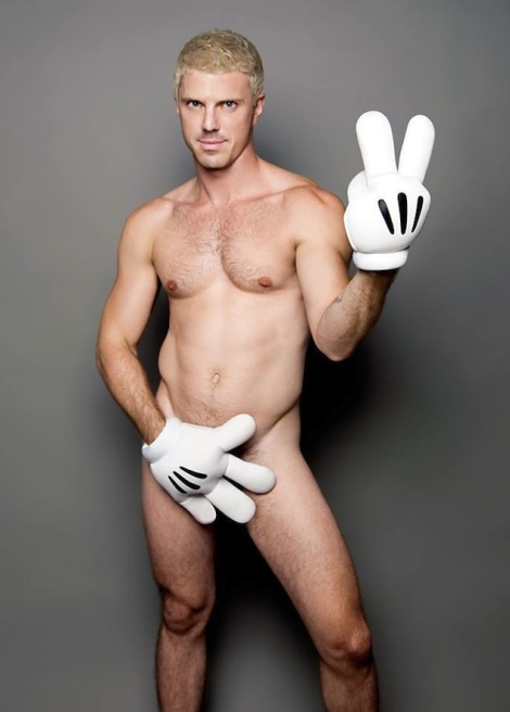Jake Shears Naked in Out Magazine