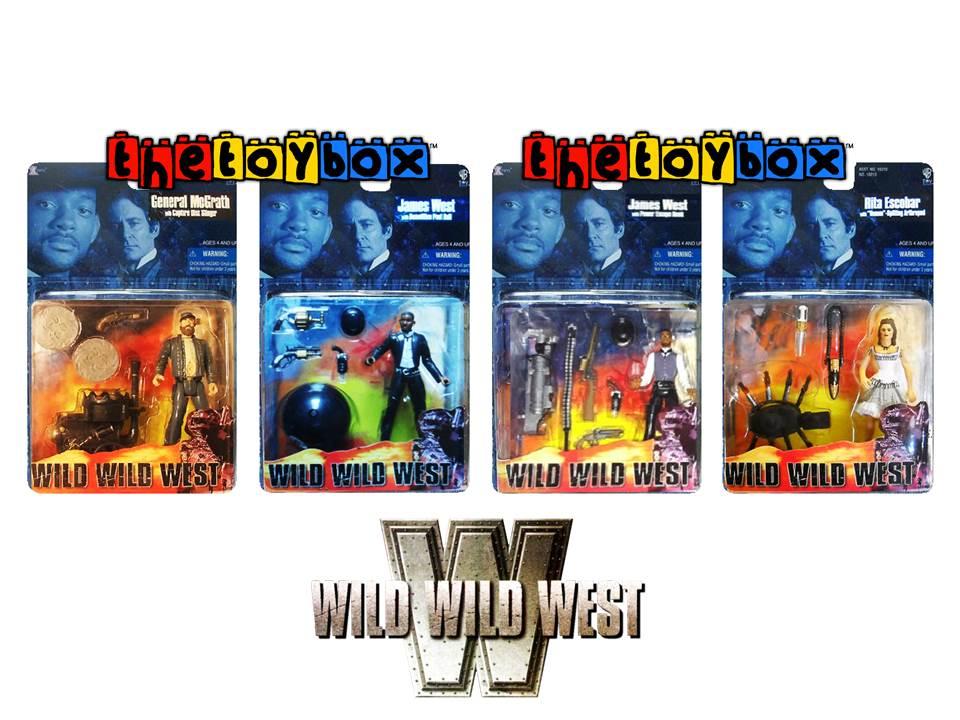 The Wild Toys : The toy box wild west toys