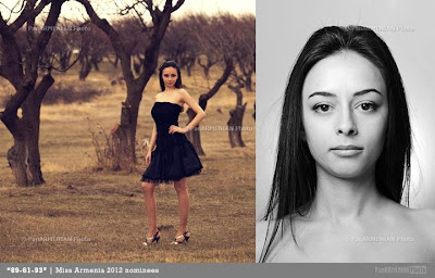 Miss Armenia Hayastan Միսս Հայաստան 2012 Gayane Abrahamyan