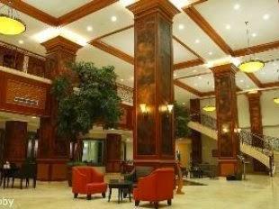 lobby Pangeran Hotel Pekanbaru