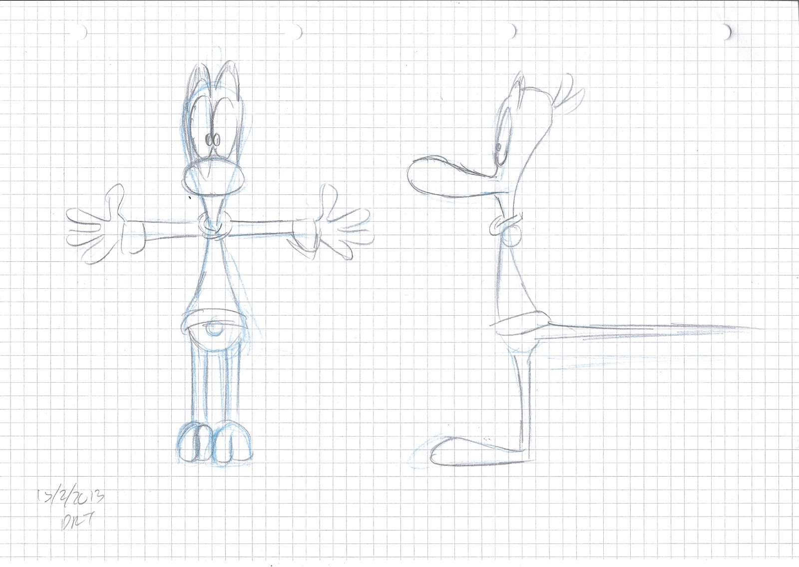 animated heads  model sheets