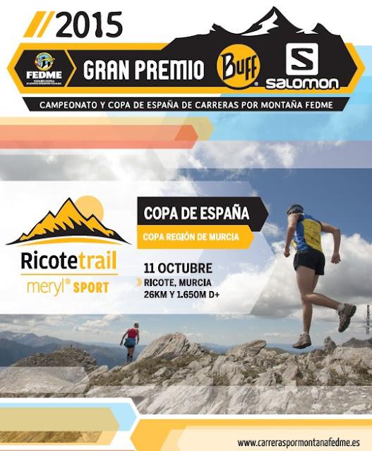Ricote Trail Meryl Sport 2015