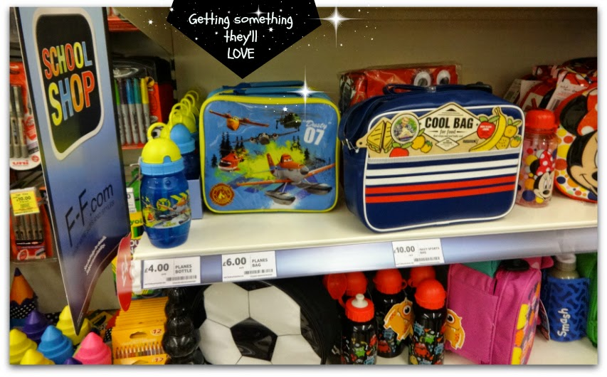 Planes 2 Dusty Plane Zipped Lunch Bag from Tesco - Back to School