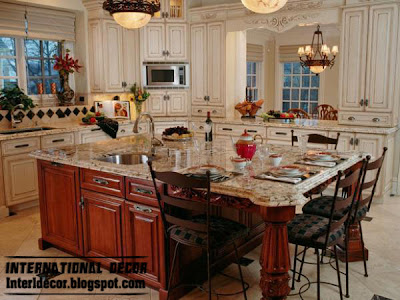 luxury white kitchen cabinets, wood kitchen cabinets design with luxury accessories