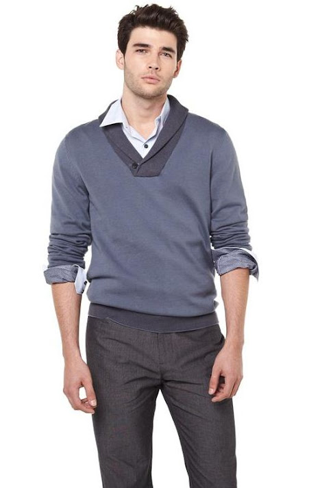 RWCO cool factor collection Shawl collar sweater, men's fashion, Vancouver, Fall staples