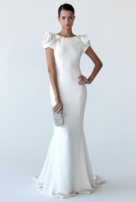 Vintage 40s Style Wedding Dresses : Gos bridal trends vintage inspired wedding dresses