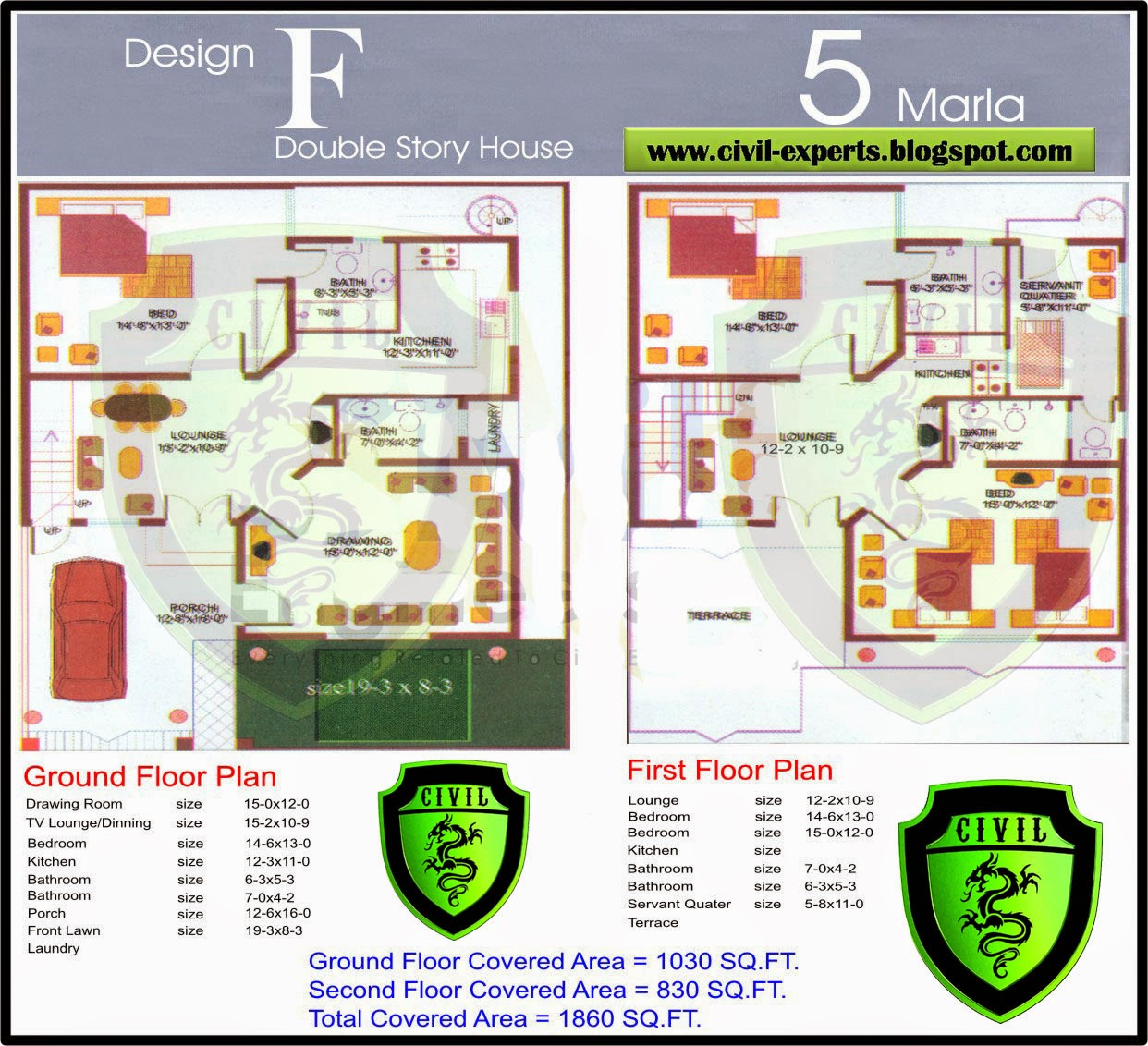 Scintillating 5 Marla House Map In Autocad Pictures
