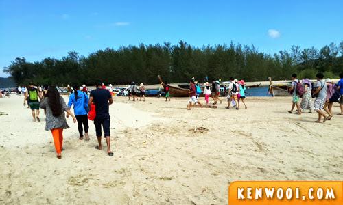 krabi island tour mor island