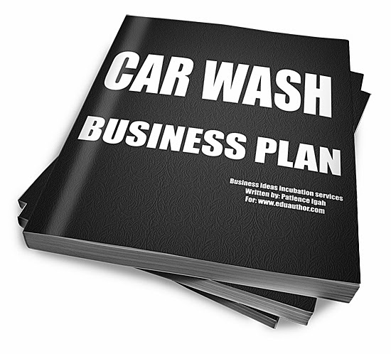 How To Start A Car Washing Business And Make Over N25000 Daily – Car Wash Business Plan Template