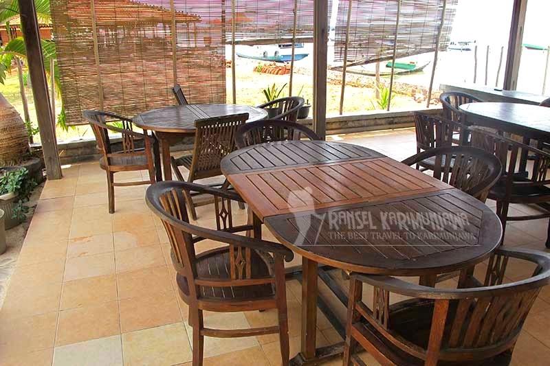 cafe blue laguna inn hotel karimunjawa