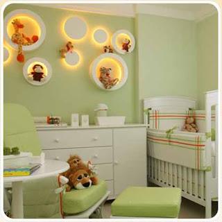 quartos de bebe decorado fotos 3 Como decorar o quarto do bebê