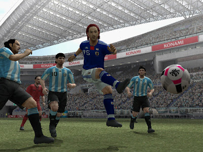 Winning Eleven Word Soccer 2010 Aoki Samurai no Chousen (PS2) 2010