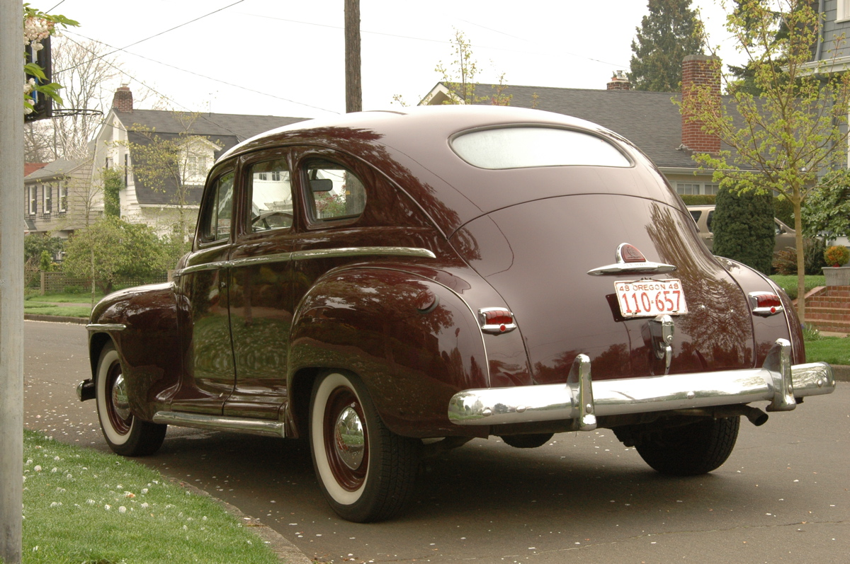 Old Parked Cars 1948 Plymouth Special Deluxe Sedan