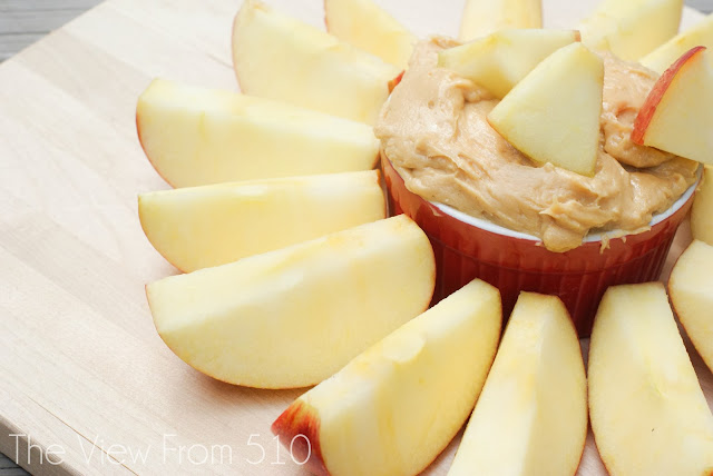 3-Ingredient Peanut Butter Dip #Recipe
