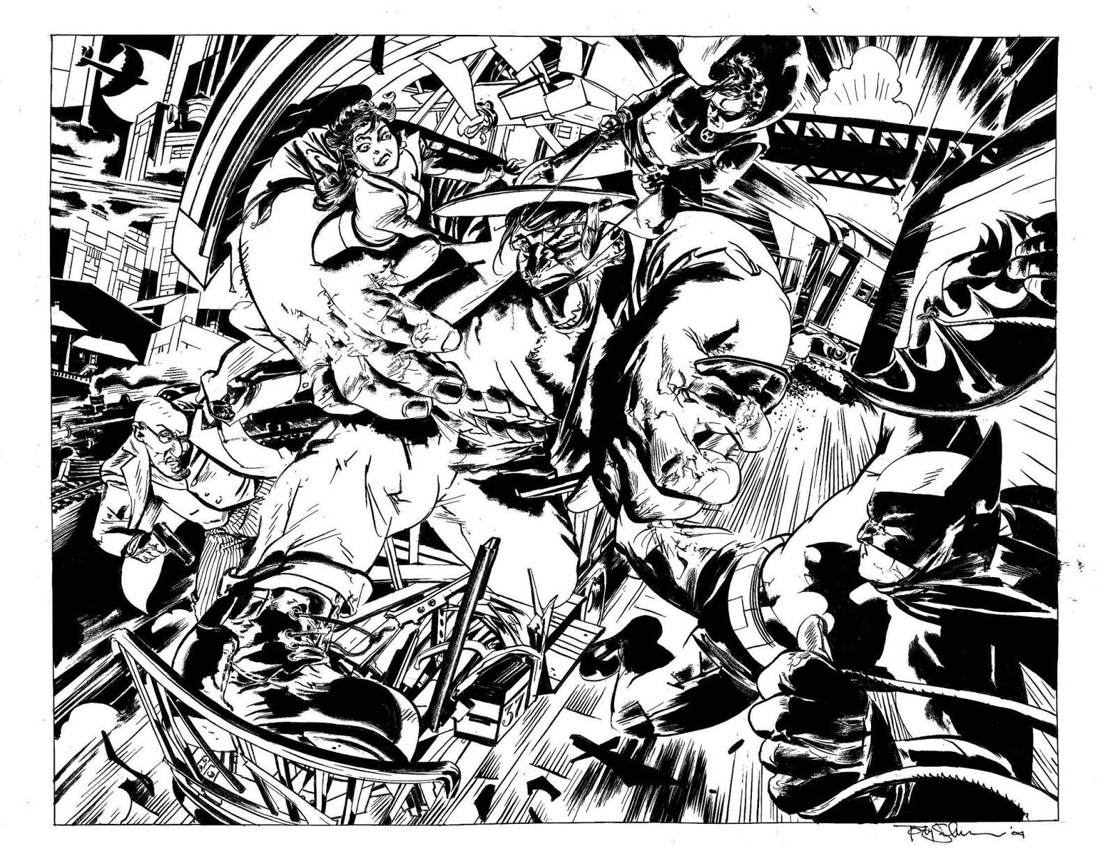 Ilustraciones sueltas chulas encontradas por el internete - Página 2 Batman-Monster_final_