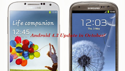 Android 4.3 update for samsung phones