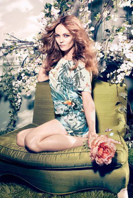 H&M Conscious primavera 2013 vestido estampado