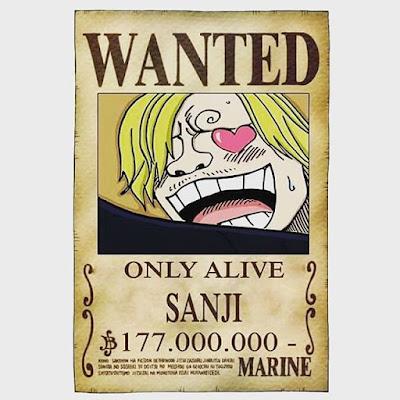 Poster Sanji Only Alive