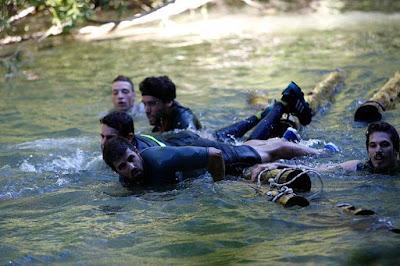 farinato race pamplona iruña agua rio