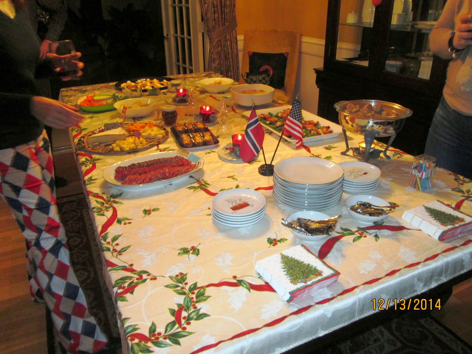 Christine\'s Circles : A Norwegian Christmas Party