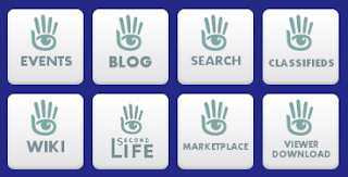 Second Life tiles on Symbaloo page