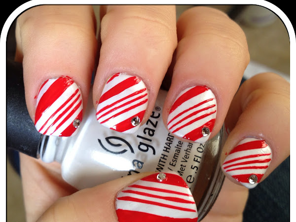 Day 3 - Candy Cane Print