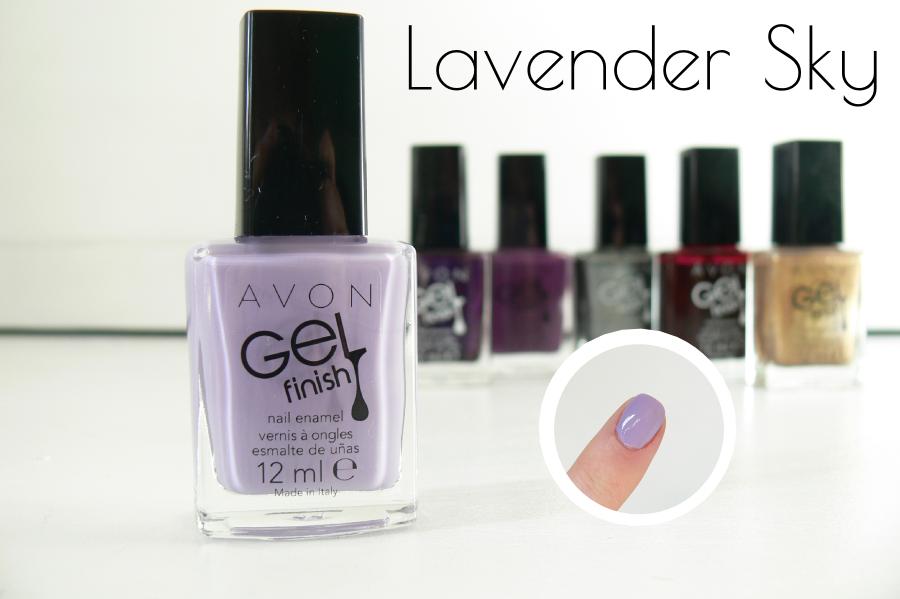Avon - GELfinish - Lavender Sky - swatche