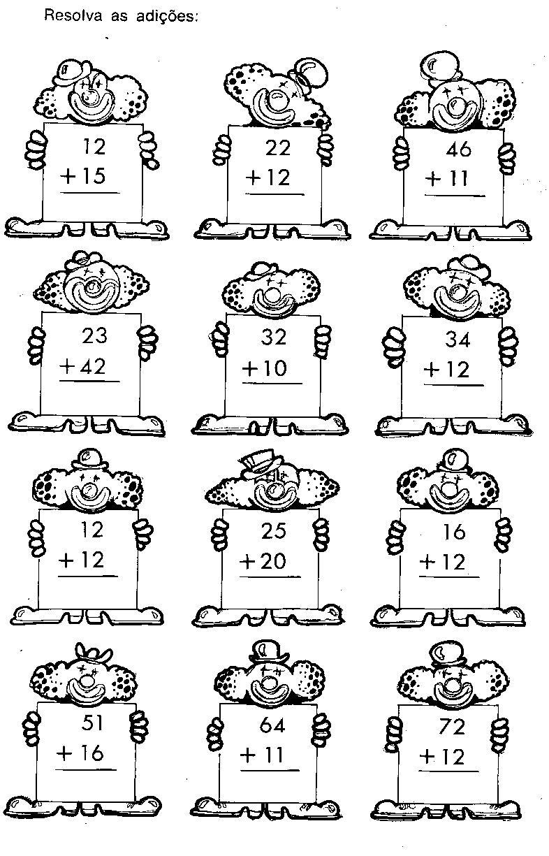 Matematica Adicao De Dezenas