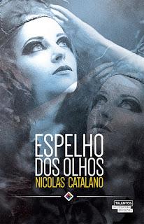 """Capa do livro """"Espelho dos Olhos"""""""