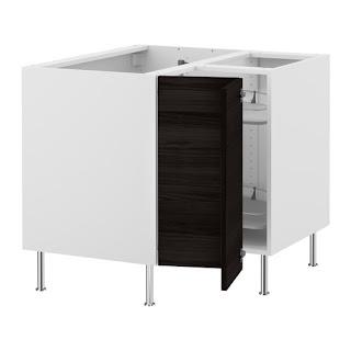 Cómo montar una cocina Ikea - El armario de esquina con carrusel ...