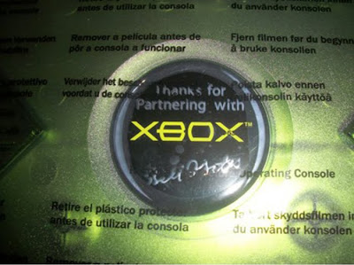 Limited Partners Edition Xbox Signed By Bill Gates
