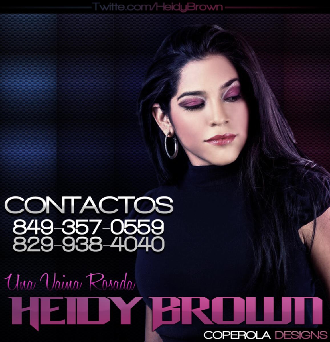 NEW FOTO DE Heidy Brown PARA CONTRATACIONES - Heidy Brown - COPEROLA ...