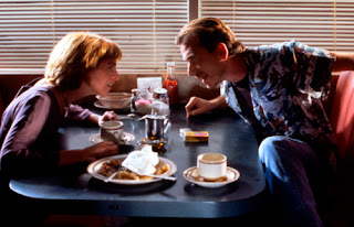 Tim Roth's diner heist, pumpkin and honey bunny, Pulp Fiction, Directed by Quentin Tarantino