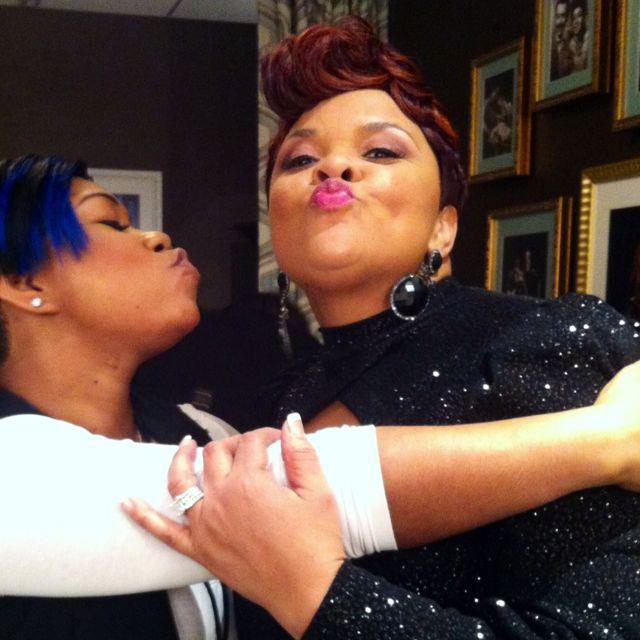 Tamela Mann's Hairstyle for the BET Awards