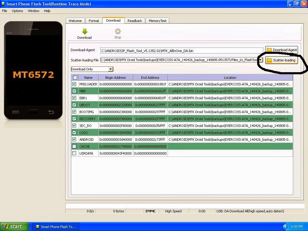 Flash Ulang Evercoss A7A Terbaru | Menggunakan PC, Paling Ampuh Atasi Bootloop!